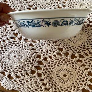 Two Corelle ceramic bows